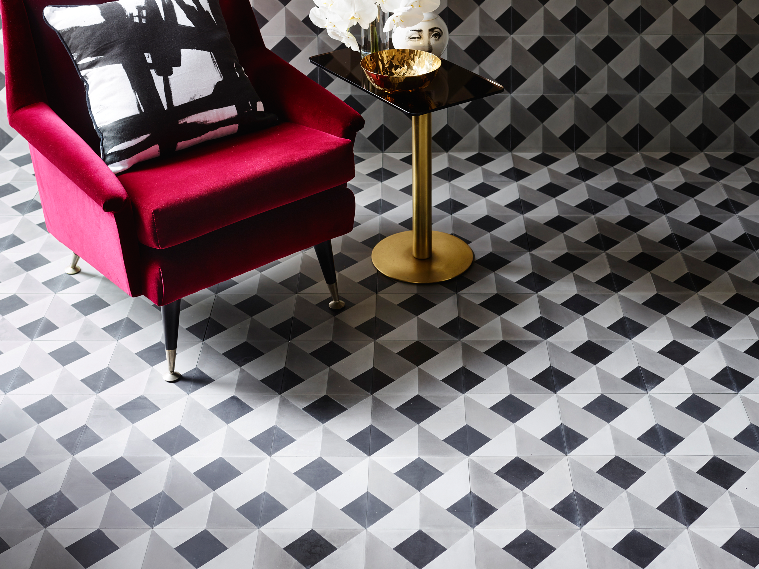 Greg Natale New Cement Tile Collection CUBO by Greg Natale